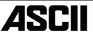 ASCIIロゴ